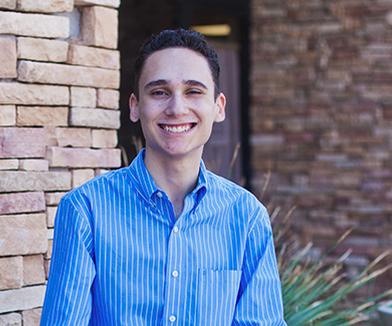 JGS high school student, Chase, is featured on the cover of this month's In The ZONA!