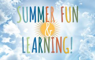 JGS Summer Fun and Learning